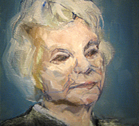 Justice Sandra Day O'Connor Oil Painting