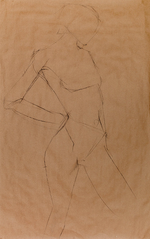 No3 Charcoal on Paper
